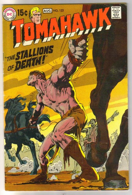 Tomahawk #123 comic book fine 6.0