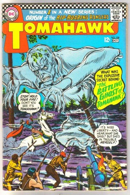 Tomahawk #106 comic book very fine 8.0