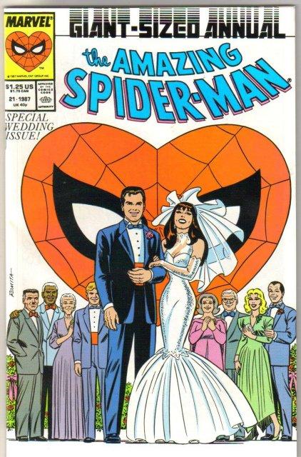 Amazing Spider-man annual #21 comic book near mint 9.4