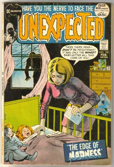 Unexpected #132 comic book very good 4.0