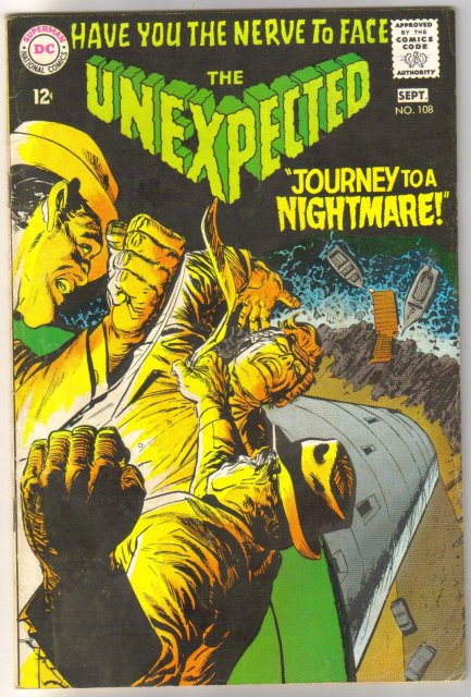 The Unexpected #108 comic book very good/fine 5.0