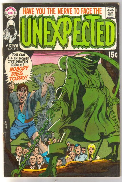 The Unexpected #115 comic book very good/fine 5.0