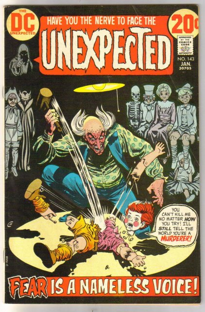 The Unexpected #143 comic book very good/fine 5.0
