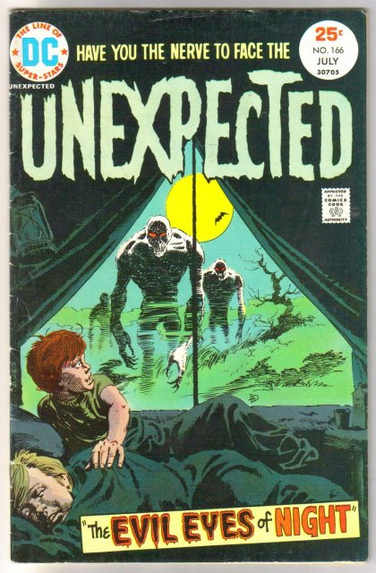 The Unexpected #166 comic book very good/fine 5.0