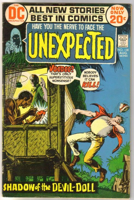 The Unexpected #138 comic book fine 6.0
