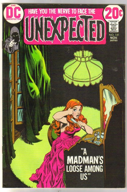 The Unexpected #141 comic book very fine 8.0