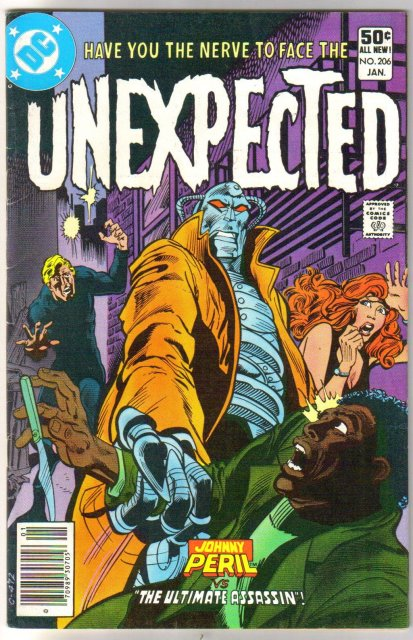 The Unexpected #206 comic book very fine 8.0
