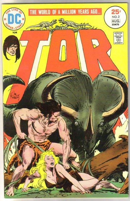 Tor #2 comic book very fine 8.0