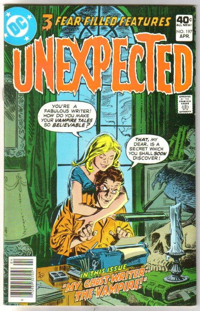 The Unexpected #197 comic book very fine/near mint 9.0