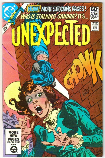 The Unexpected #215 comic book very fine/near mint 9.0
