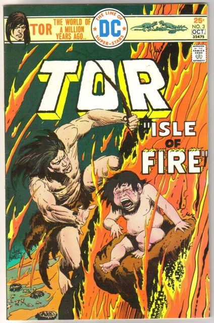 Tor #3 comic book near mint 9.4