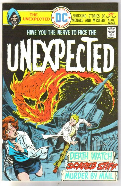 The Unexpected #167 comic book near mint 9.4
