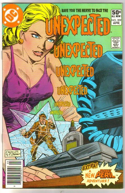 The Unexpected #209 comic book near mint 9.4