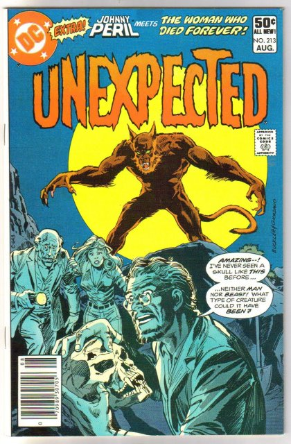 The Unexpected #213 comic book near mint 9.4