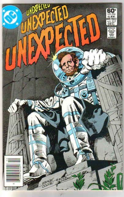 The Unexpected #217 comic book near mint 9.4