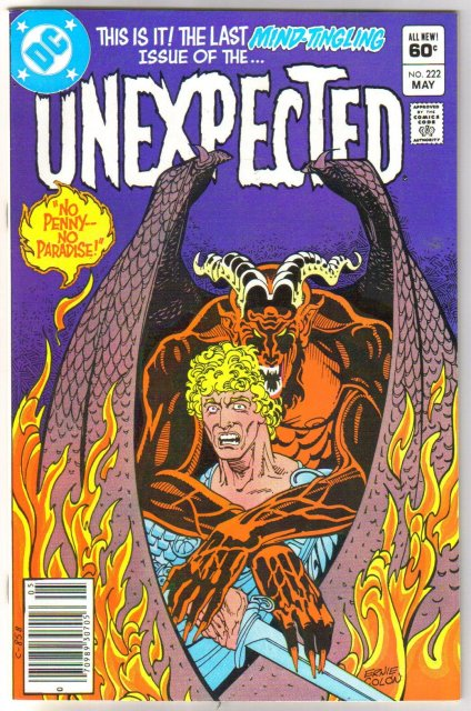 The Unexpected #222 comic book mint 9.8