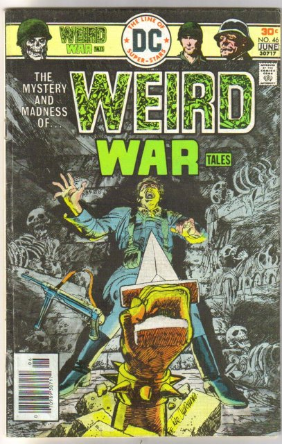 Weird War Tales #46 comic book fine/very fine 7.0