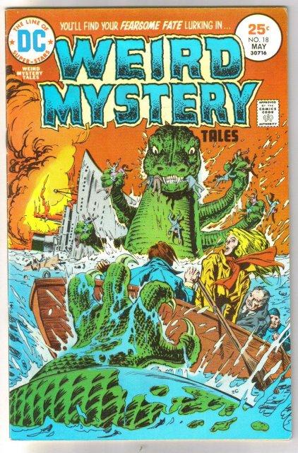 Weird Mystery Tales #18 comic book fine/very fine 7.0