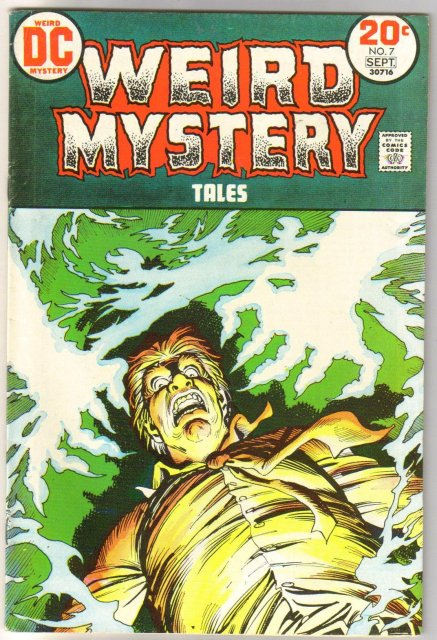 Weird Mystery Tales #7 comic book very fine 8.0