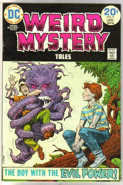 Weird Mystery Tales #9 comic book near mint 9.4