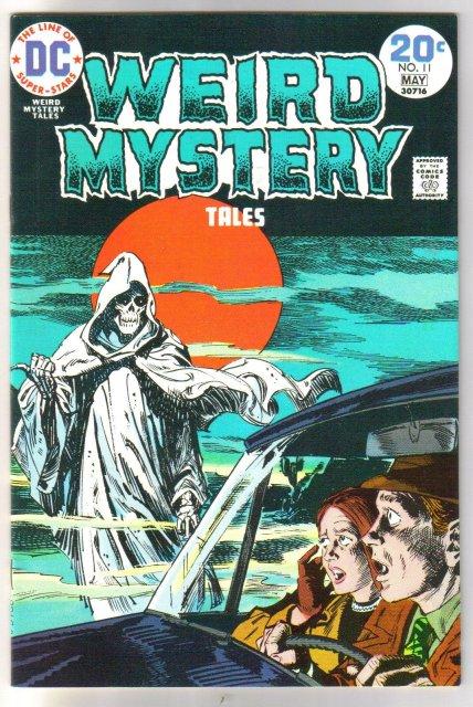 Weird Mystery Tales #11 comic book near mint 9.4