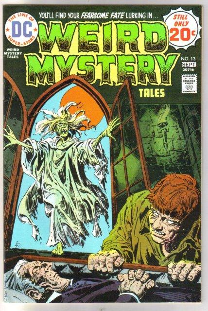 Weird Mystery Tales #13 comic book near mint 9.4