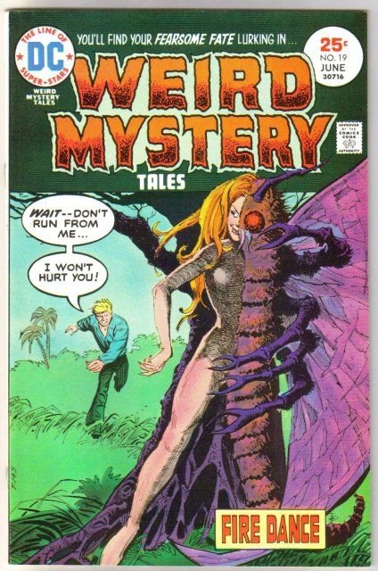 Weird Mystery Tales #19 comic book near mint 9.4