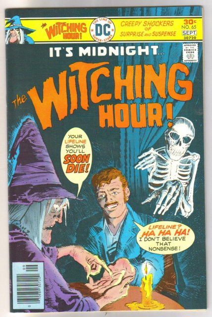 The Witching Hour #65 comic book near mint 9.4