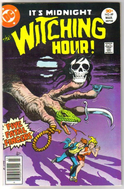 The Witching Hour #69 comic book near mint 9.4