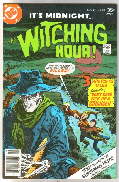The Witching Hour #73 comic book near mint 9.4