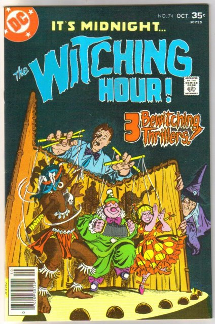 The Witching Hour #74 comic book near mint 9.4