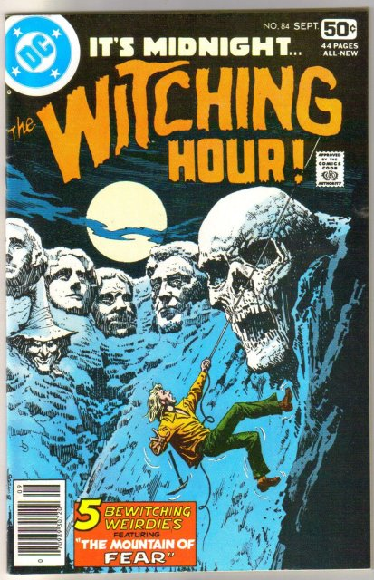 The Witching Hour #84 comic book near mint 9.4