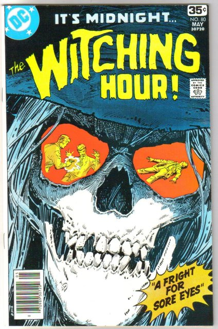 The Witching Hour #80 comic book mint 9.8