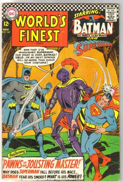 World's Finest #162 comic book good/very good 3.0