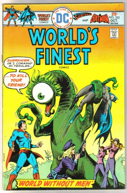 World's Finest #233 comic book very fine 8.0