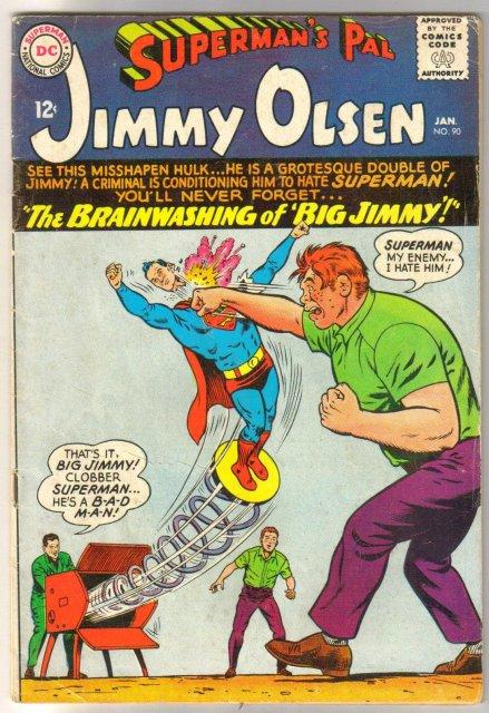 Superman's Pal Jimmy Olsen #90 comic book very good 4.0