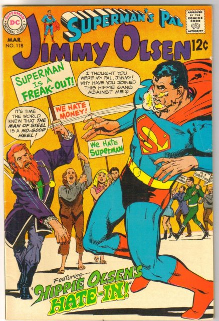 Superman's Pal Jimmy Olsen #118 comic book  fine 6.0