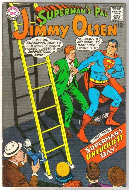 Superman's Pal Jimmy Olsen #106 comic book  fine/very fine 7.0
