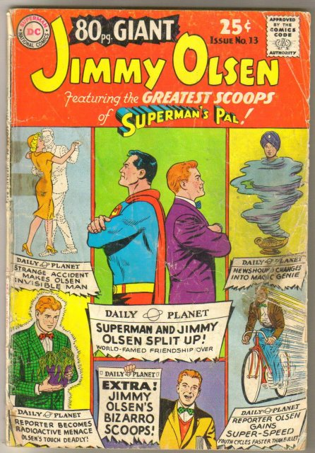 Eighty Page Giant #13 Jimmy Olsen comic book fair 1.5