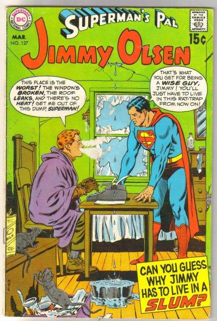 Superman's Pal Jimmy Olsen #127 comic book very good/fine 5.0