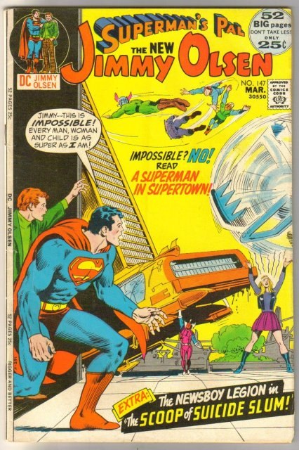 Superman's Pal Jimmy Olsen #147 comic book very good/fine 5.0