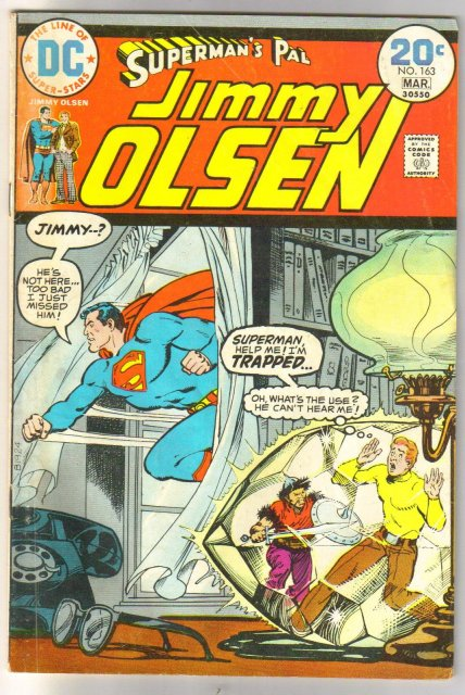 Superman's Pal Jimmy Olsen #163 comic book very good/fine 5.0