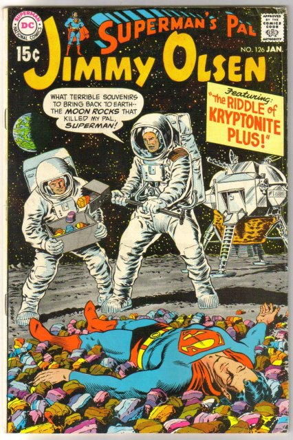 Superman's Pal Jimmy Olsen #126 comic book fine 6.0