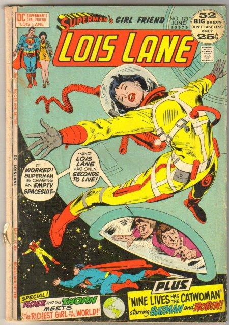 Superman's Girl Friend Lois Lane #123 very good 4.0