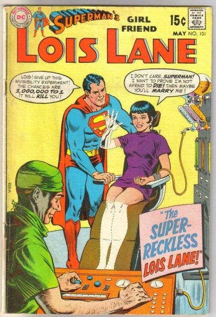 Superman's Girl Friend Lois Lane #101 very good 4.0