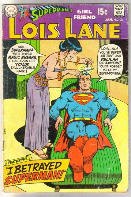 Superman's Girl Friend Lois Lane #98 very good 4.0