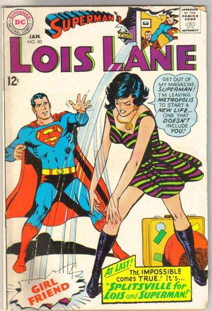 Superman's Girl Friend Lois Lane #80 very good/fine 5.0
