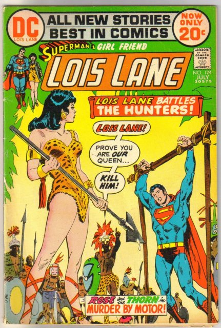Superman's Girl Friend Lois Lane #124 fine 6.0