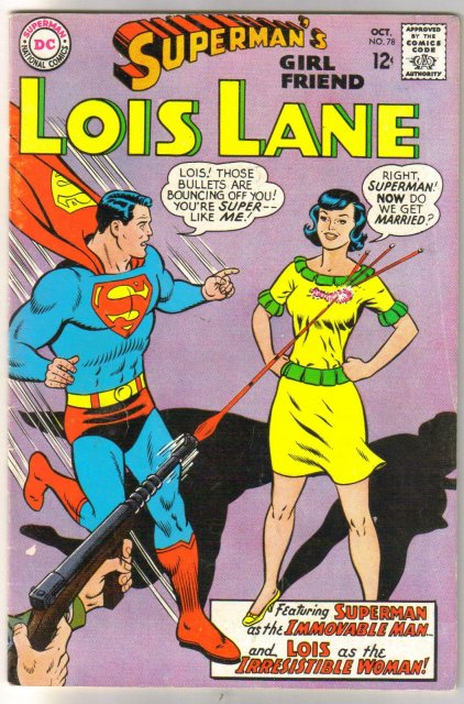 Superman's Girl Friend Lois Lane #78 fine 6.0