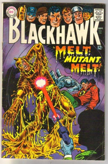 Blackhawk #236 comic book very good/fine 5.0
